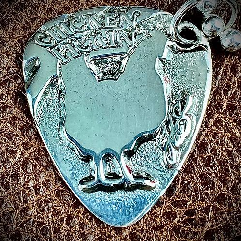 McSwain Chickin' Pickin' Pendant - .925 Silver