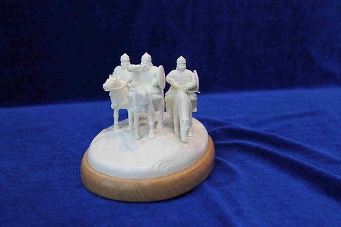 """Скульптура """"Три богатыря"""""""