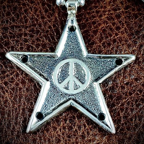 McSwain Peace Star Pendant - .925 Silver