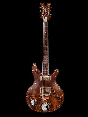 Rusty Macxhine Guitar
