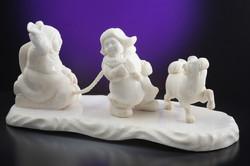 Скульптура Детские забавы , Материал рог лося.jpg