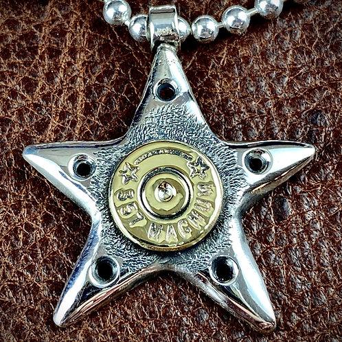 McSwain Bullet Star Pendant - .925 Silver