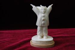 Скульптура Клоун 2, Материал рог лося.jpg