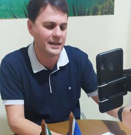 Transparência: Vereador apresenta relatório de atividades em live