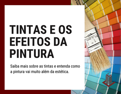 TINTAS E OS EFEITOS DA PINTURA NO AMBIENTE