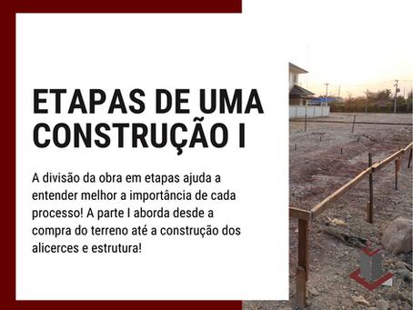 ETAPAS DE UMA CONSTRUÇÃO I