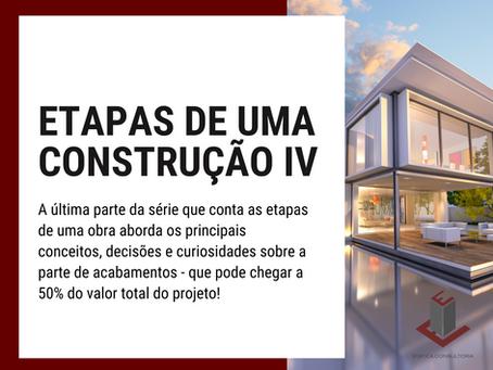 ETAPAS DE UMA CONSTRUÇÃO IV