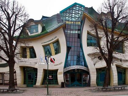 A Casa Torta, Sopot, Polônia
