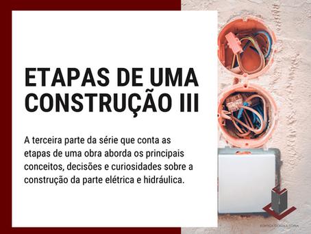 ETAPAS DE UMA CONSTRUÇÃO III