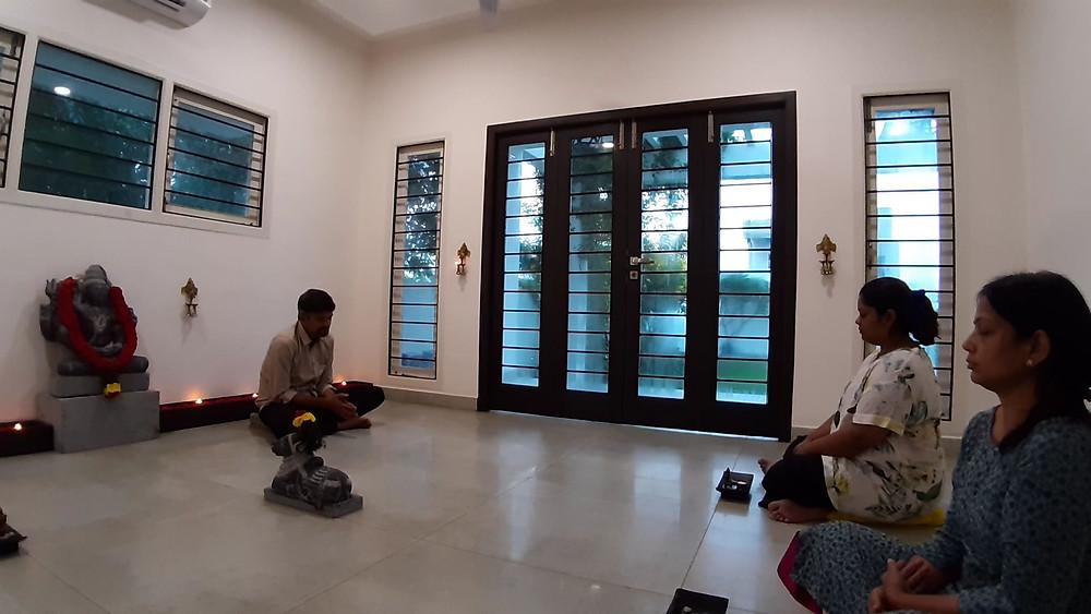 Meditation at Purnam