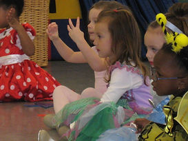 Daisy students participate in Costume Dress Up Week at Dance In Bloom, dance class nashville bellevue, ballet classes nashville