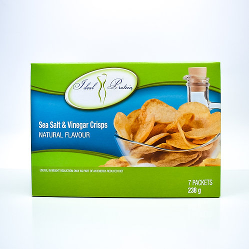 Ideal Protein Sea Salt & Vinegar Crisps