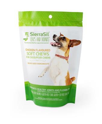 SierraSil Soft Chews Chicken Flavour 100ct