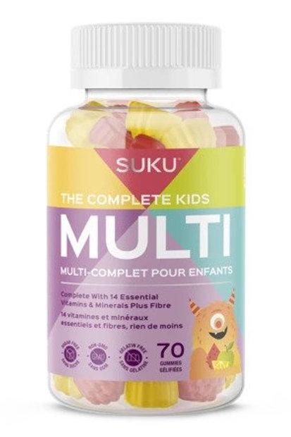 SUKU Complete Kids Multi Vitamin Gummies