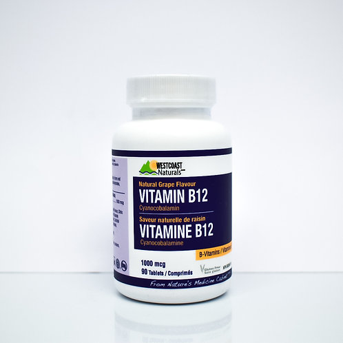 Westcoast Naturals Vitamin B12 Tablets