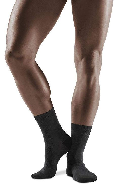 Business Compression Mid Cut Socks