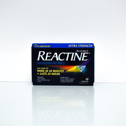 Reactin Extra Strength Allergy Relief 24-Hour