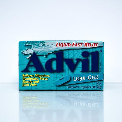 Advil Ibuprofen Liquid-Fast Relief Liquid Gels