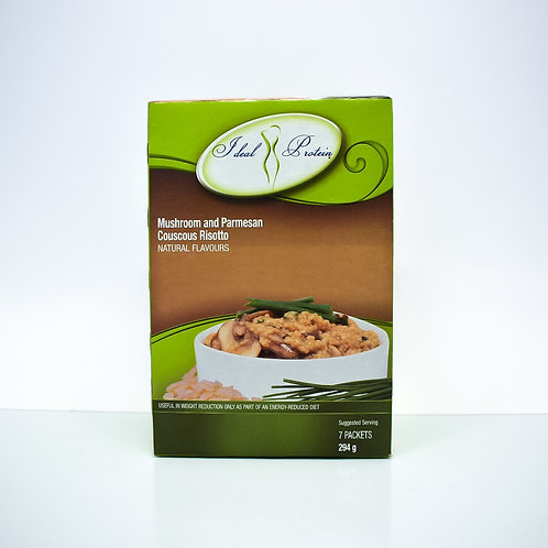 Ideal Protein Mushroom & Parmesan Couscous Risotto