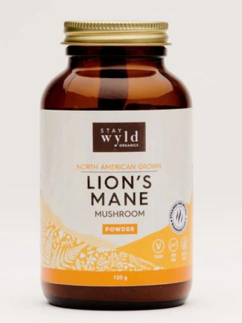 Stay Wyld Organics - Lion's Mane Mushroom Powder