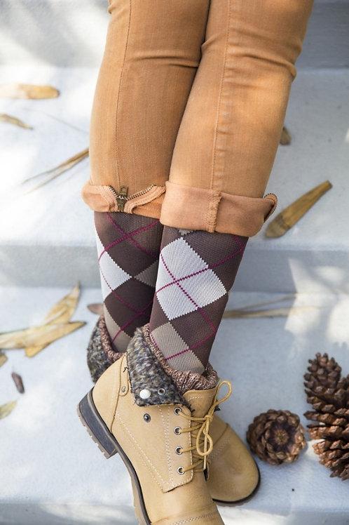 MEDI Rejuva  Argyle Compression Socks