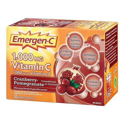 Emergen-C Cranberry Pomegranate 30-pack