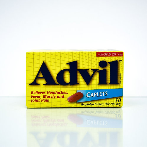 Advil Ibuprofen Regular Strength Caplets