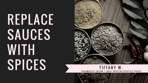 Replace Sauces with Spices