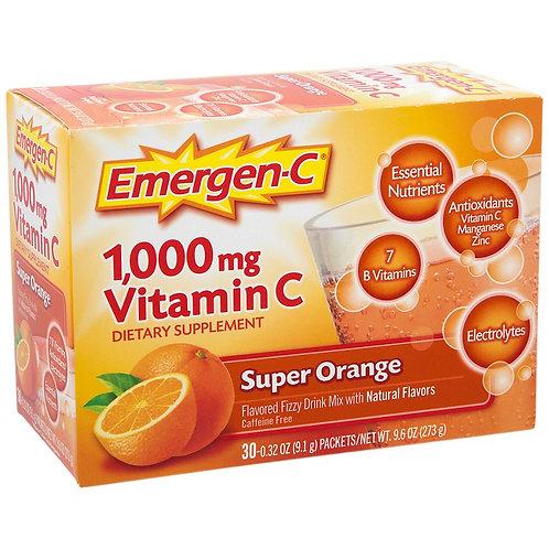 Emergen-C Super Orange 30-pack