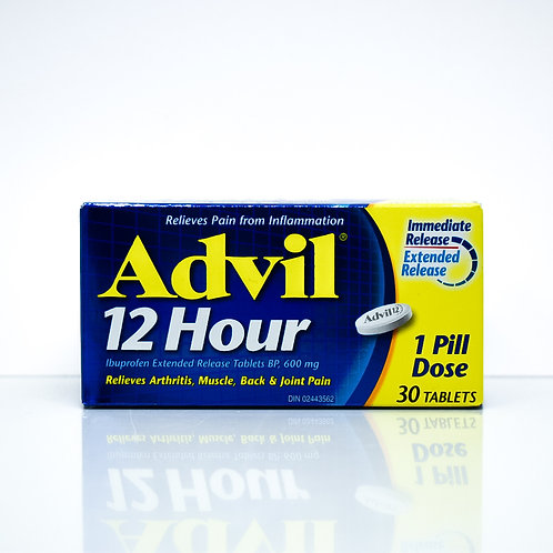 Advil 12-Hour Ibuprofen Extended Release Tablets