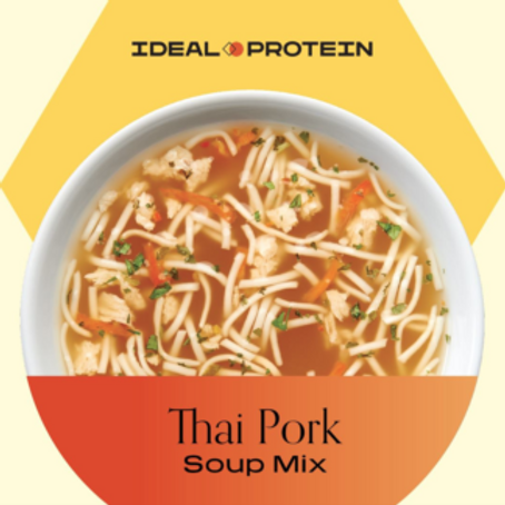 Ideal Protein Thai Pork Flavored Soup Mix