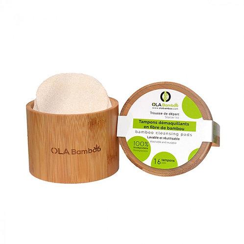 OLA Bamboo Reusable Make Up Remover Pads