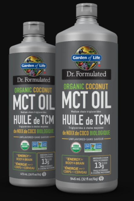 GARDEN OF LIFE - Dr. Formulated 100% Organic MCT Oil