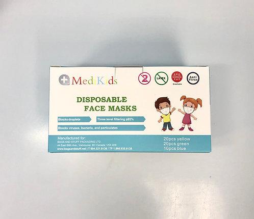 MediKids Disposable Face Masks