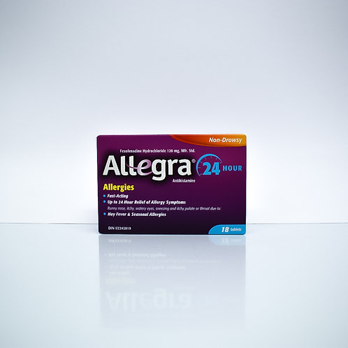 Alegra Non Drowsy Allergy Relief 24-Hour
