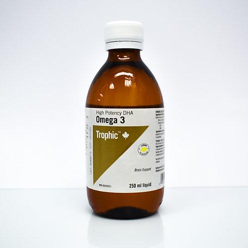 Trophic High Potency DHA Omega-3 Liquid 250mL