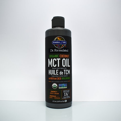 Dr. Formulated Organic Coconut MCT Oil