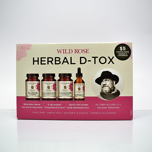 Wild Rose Herbal Detox 12-Day Program