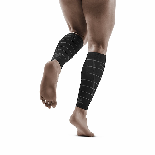 Reflective Compression Calf Sleeves