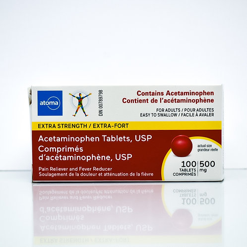 Atoma Acetaminophen Extra Strength Tablets