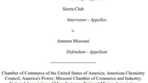 Eighth Circuit upholds EPA win in Ameren Missouri but rejects Labadie relief, 8/25, 2021  Eric Hiser