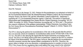 """EPA Denies Petition to Reconsider """"Project Emissions Accounting"""" Rule, by Eric L. Hiser"""