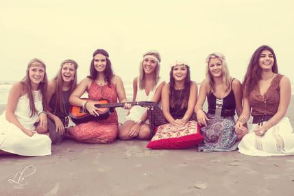 Boho Beach Group Photoshoot~