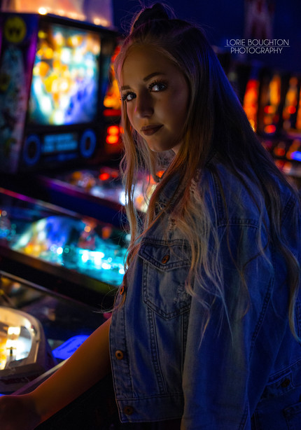 80's Group Shoot at the Arcade