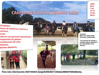 Campamentos verano 2020 / 2020 udalekuak