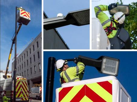 Super Smart Street Lights Installed in Essex