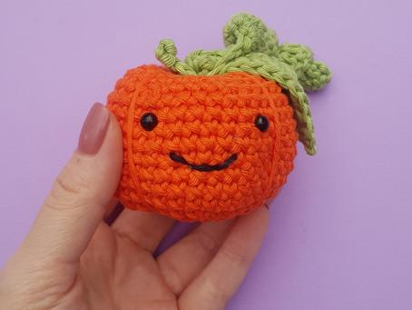 Perky Pumpkin Free Crochet Pattern