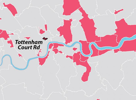 London's 38 Opportunity Areas