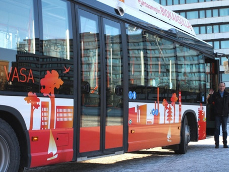 Biofuel Buses – a no brainer really!