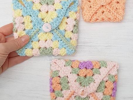 Posey Purse Stashbusting Free Crochet Pattern